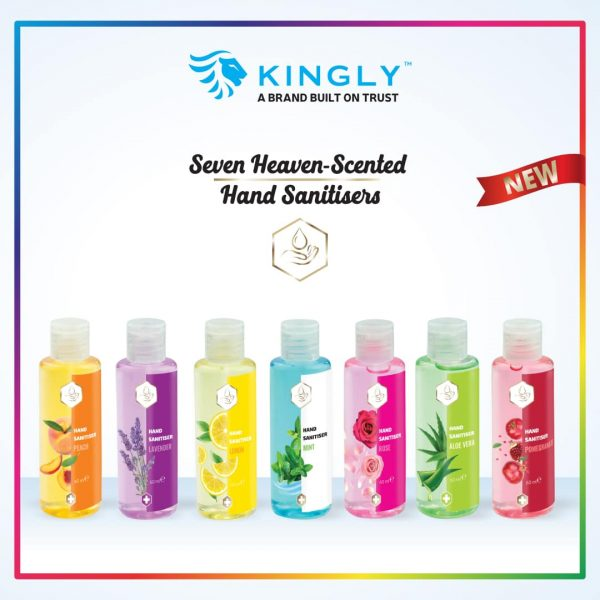 The 7 Heaven Sanitizer Gels